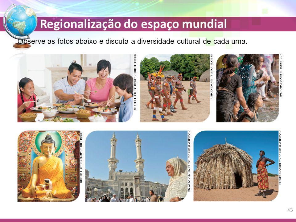 Observe as fotos abaixo e discuta a diversidade cultural de cada uma.