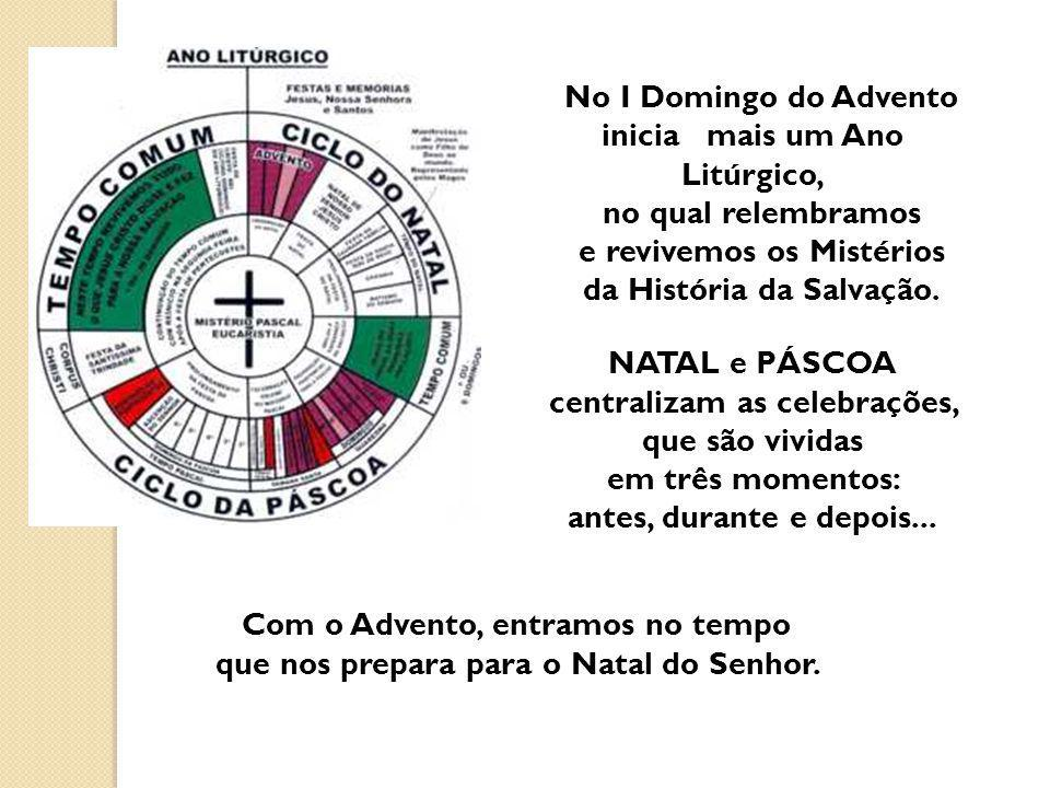 No I Domingo do Advento inicia mais um Ano Litúrgico,