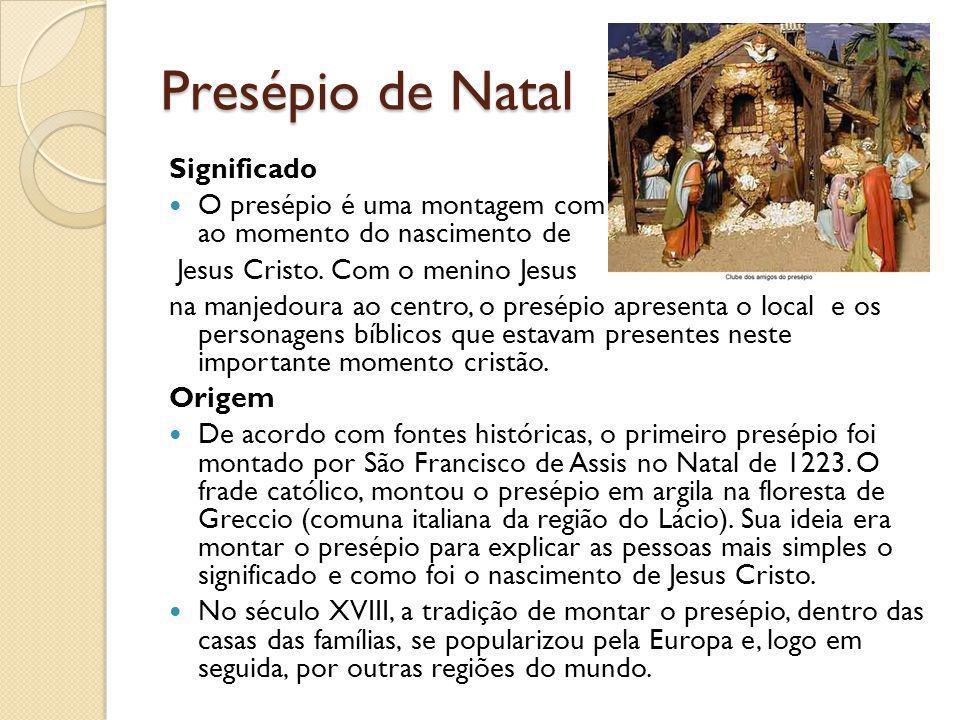 Presépio de Natal Significado