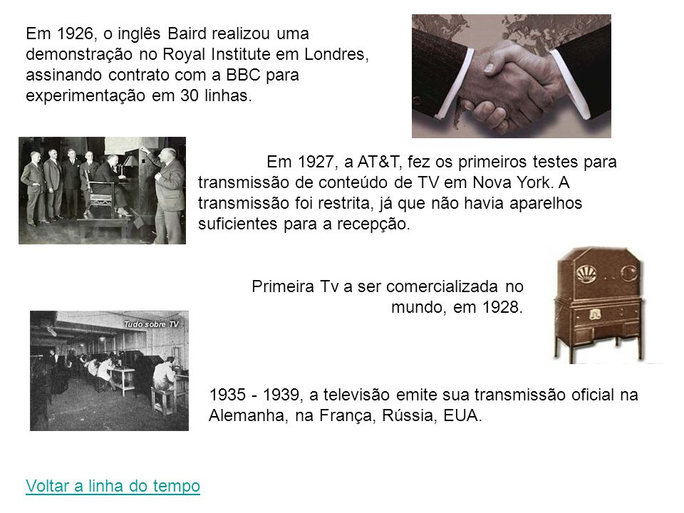 Primeira Tv a ser comercializada no mundo, em 1928.