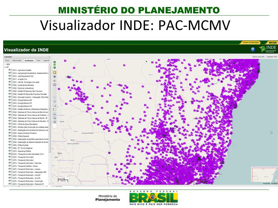 Visualizador INDE: PAC-MCMV