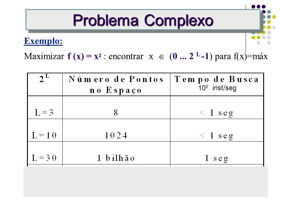 Problema Complexo Exemplo: