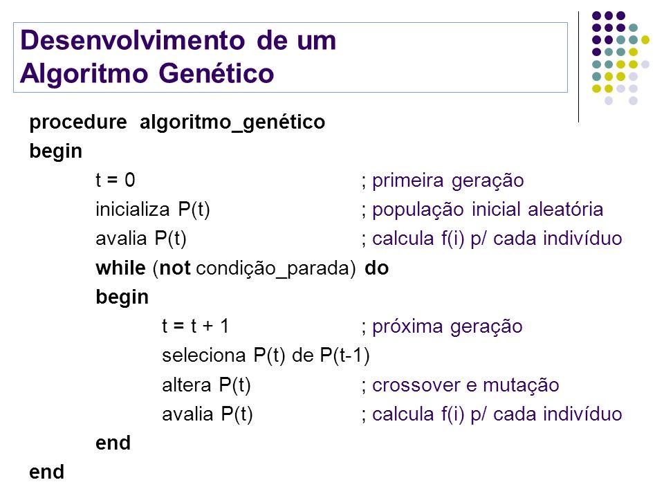 Desenvolvimento de um Algoritmo Genético