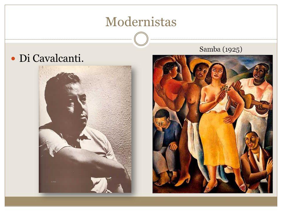 Modernistas Samba (1925) Di Cavalcanti.