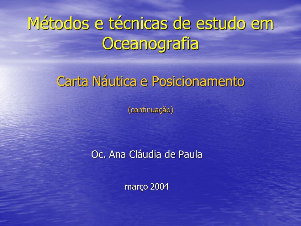 Oc. Ana Cláudia de Paula março 2004