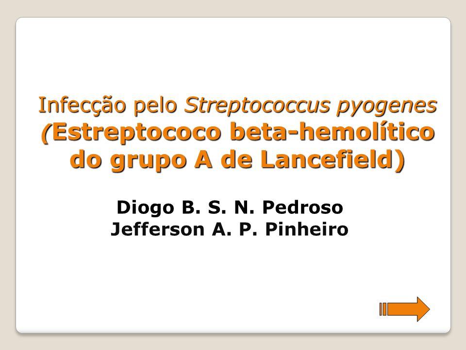 Infecção pelo Streptococcus pyogenes (Estreptococo beta-hemolítico do grupo A de Lancefield)