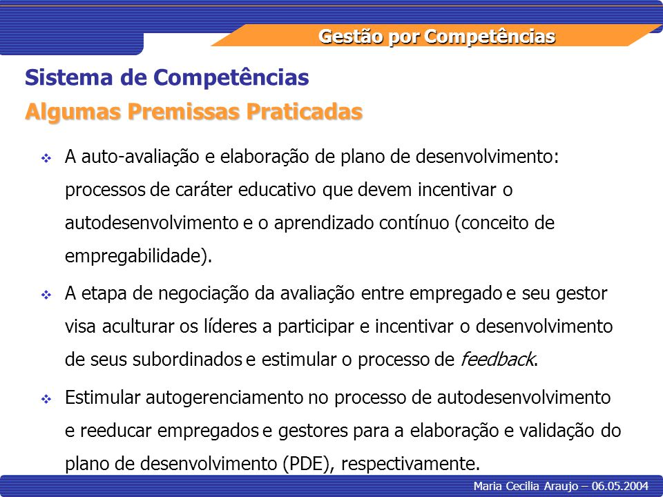 Sistema de Competências