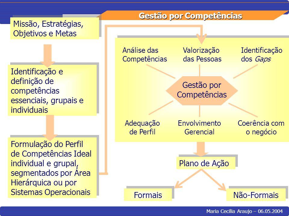 Missão, Estratégias, Objetivos e Metas