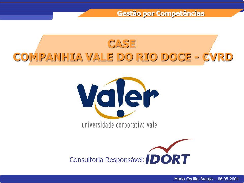 COMPANHIA VALE DO RIO DOCE - CVRD