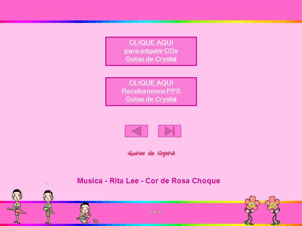 Musica - Rita Lee - Cor de Rosa Choque