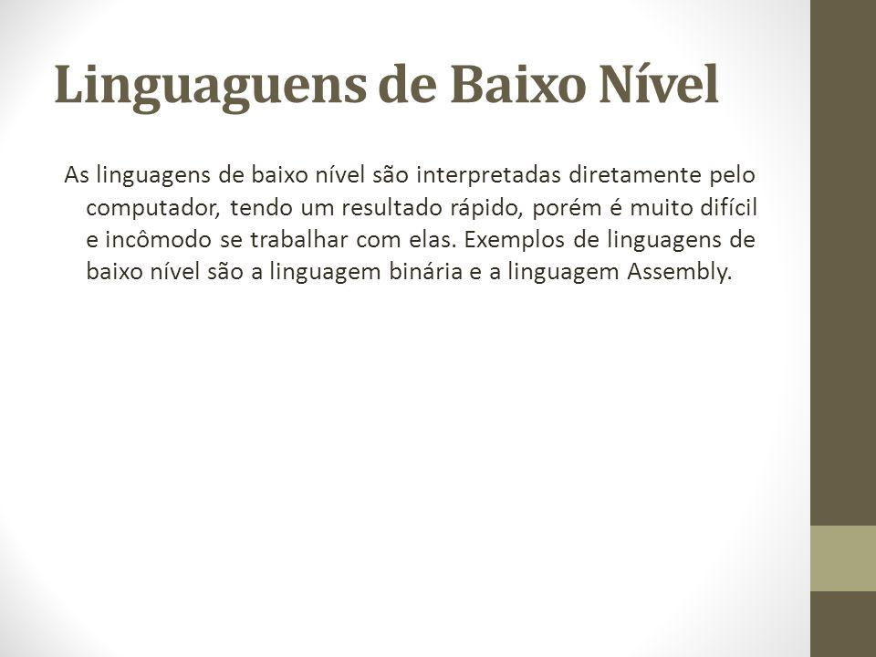 Linguaguens de Baixo Nível