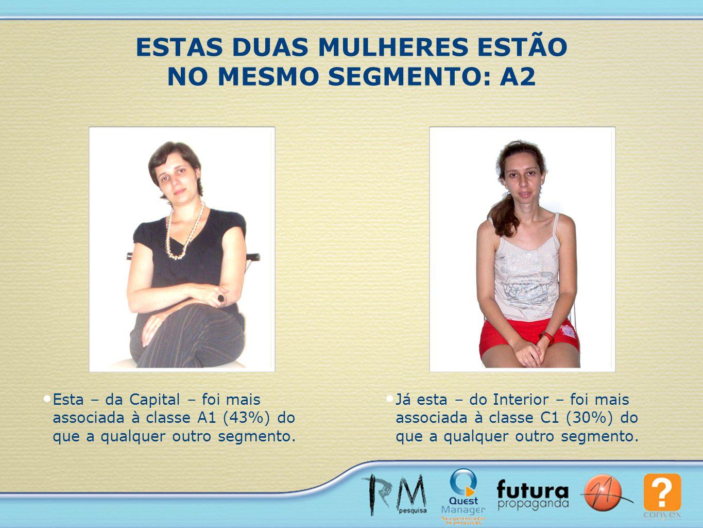 ESTAS DUAS MULHERES ESTÃO