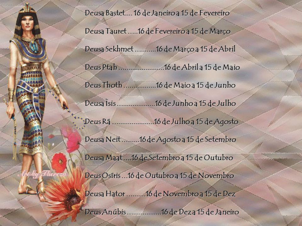 Deusa Bastet.... 16 de Janeiro a 15 de Fevereiro