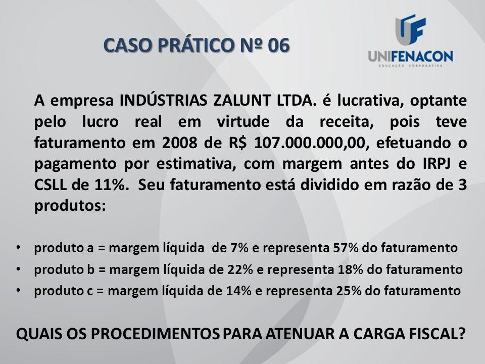 CASO PRÁTICO Nº 06