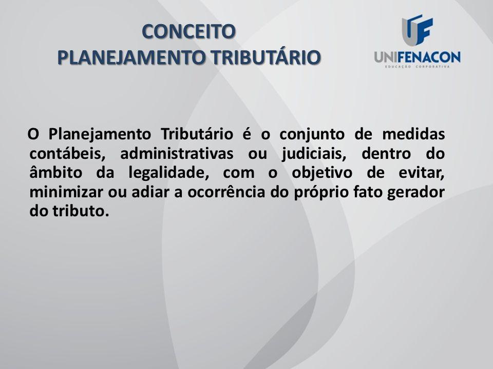 CONCEITO PLANEJAMENTO TRIBUTÁRIO