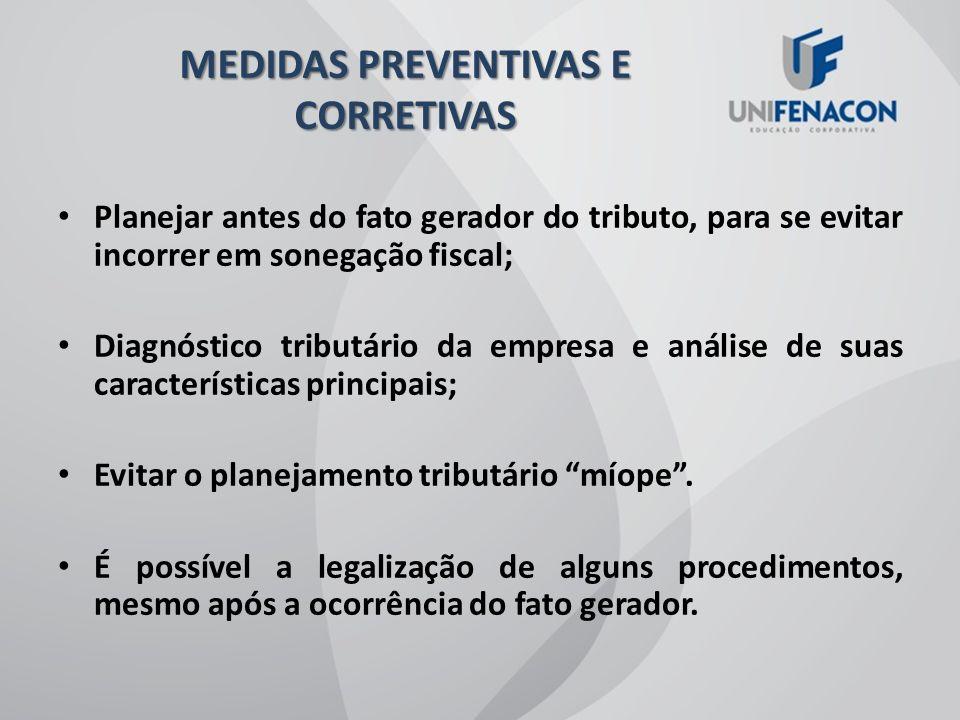 MEDIDAS PREVENTIVAS E CORRETIVAS