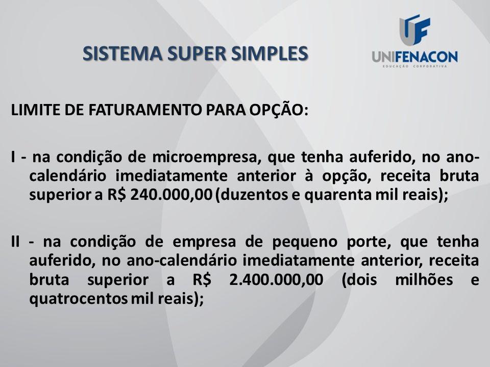 SISTEMA SUPER SIMPLES