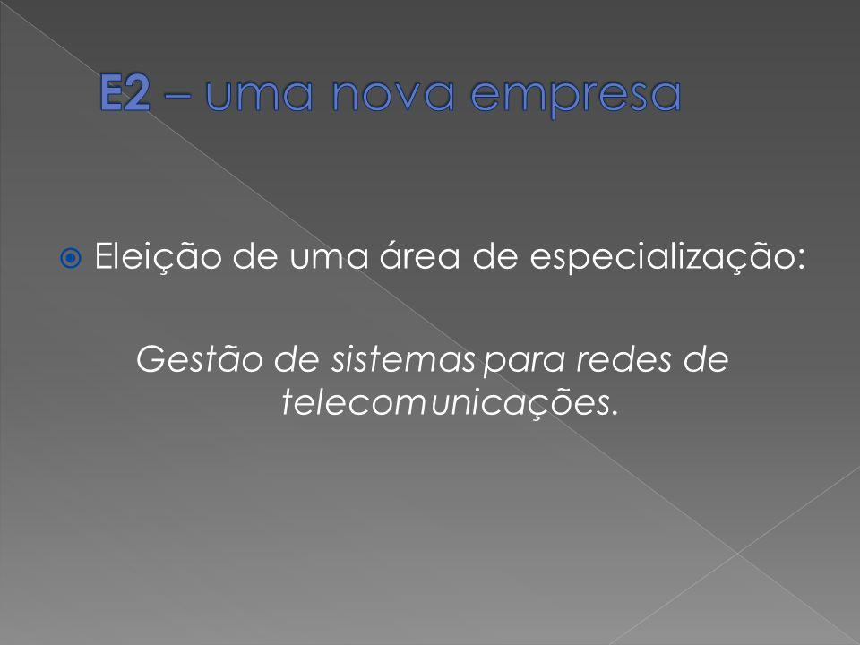 Gestão de sistemas para redes de telecomunicações.