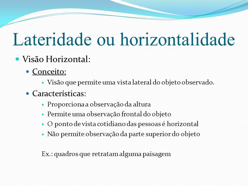 Lateridade ou horizontalidade