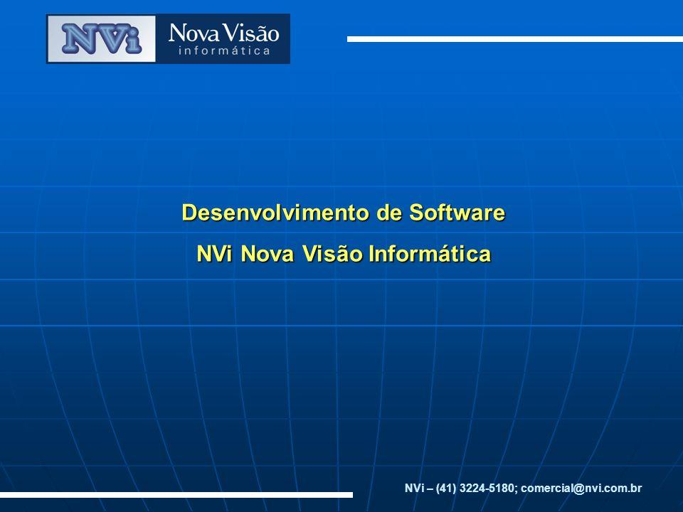 Desenvolvimento de Software NVi Nova Visão Informática