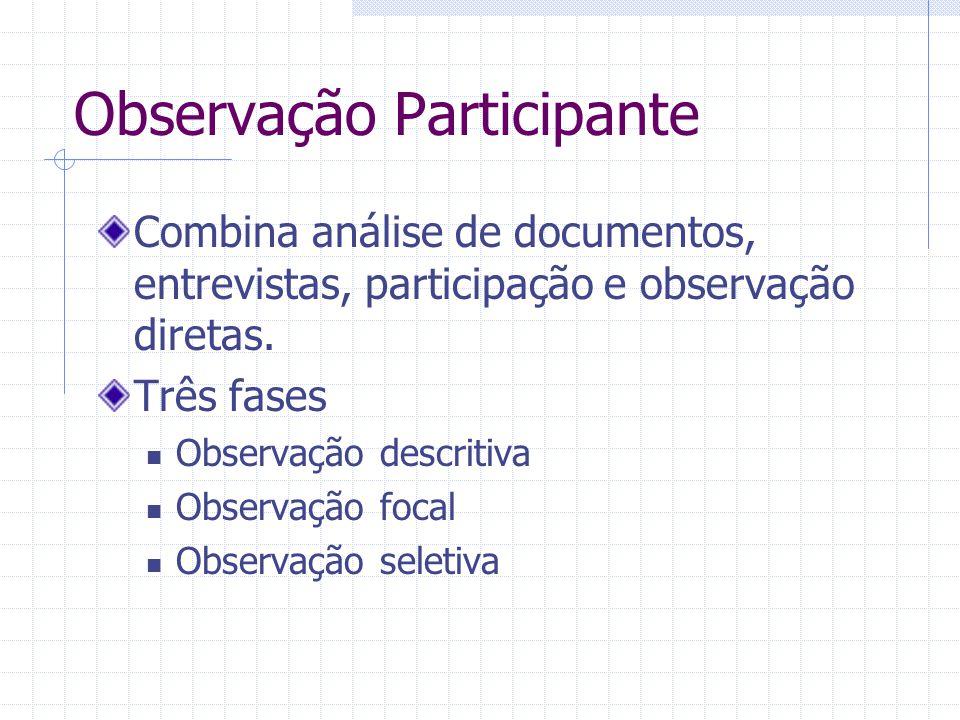 Observação Participante