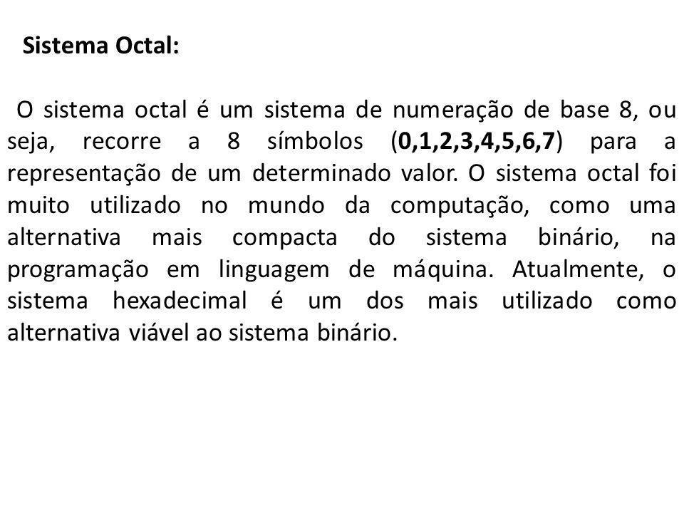 Sistema Octal: