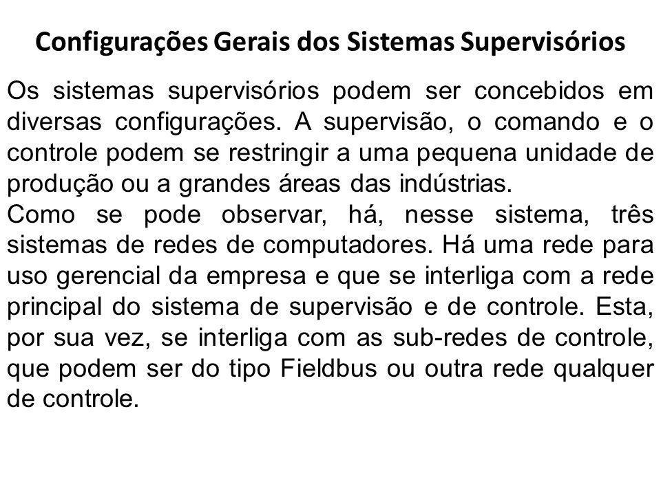 Configurações Gerais dos Sistemas Supervisórios