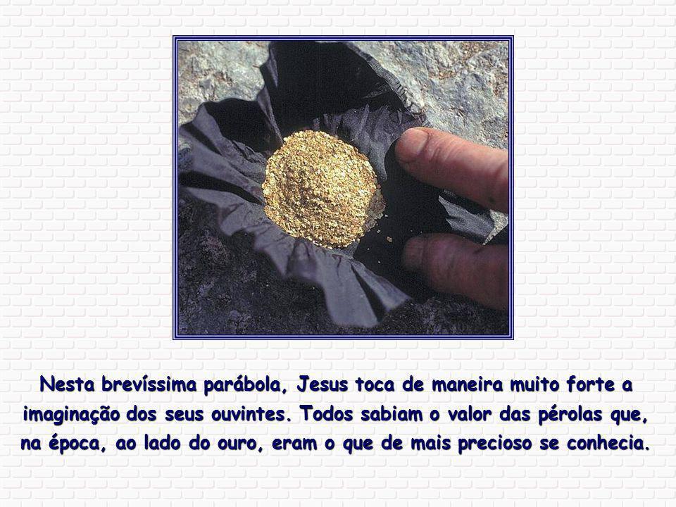 Nesta brevíssima parábola, Jesus toca de maneira muito forte a imaginação dos seus ouvintes.