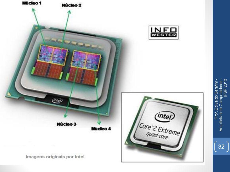 Prof. Edivaldo Serafim - Arquitetura de Computadores - IFSP 2013
