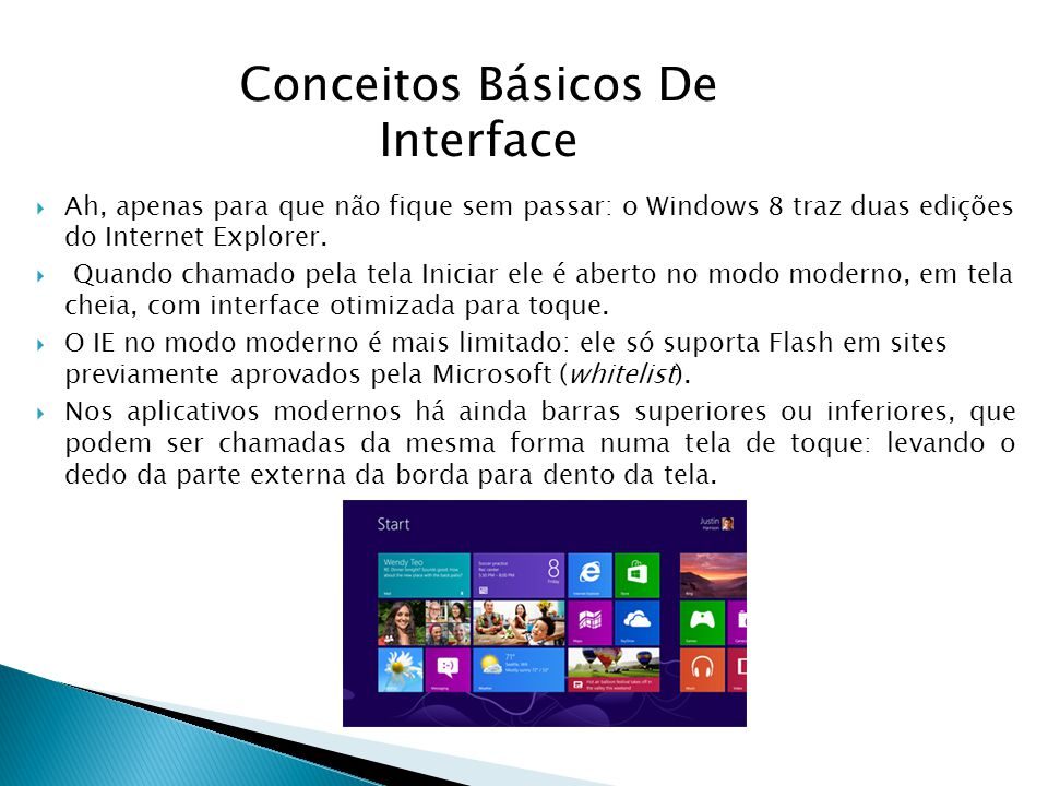 Conceitos Básicos De Interface