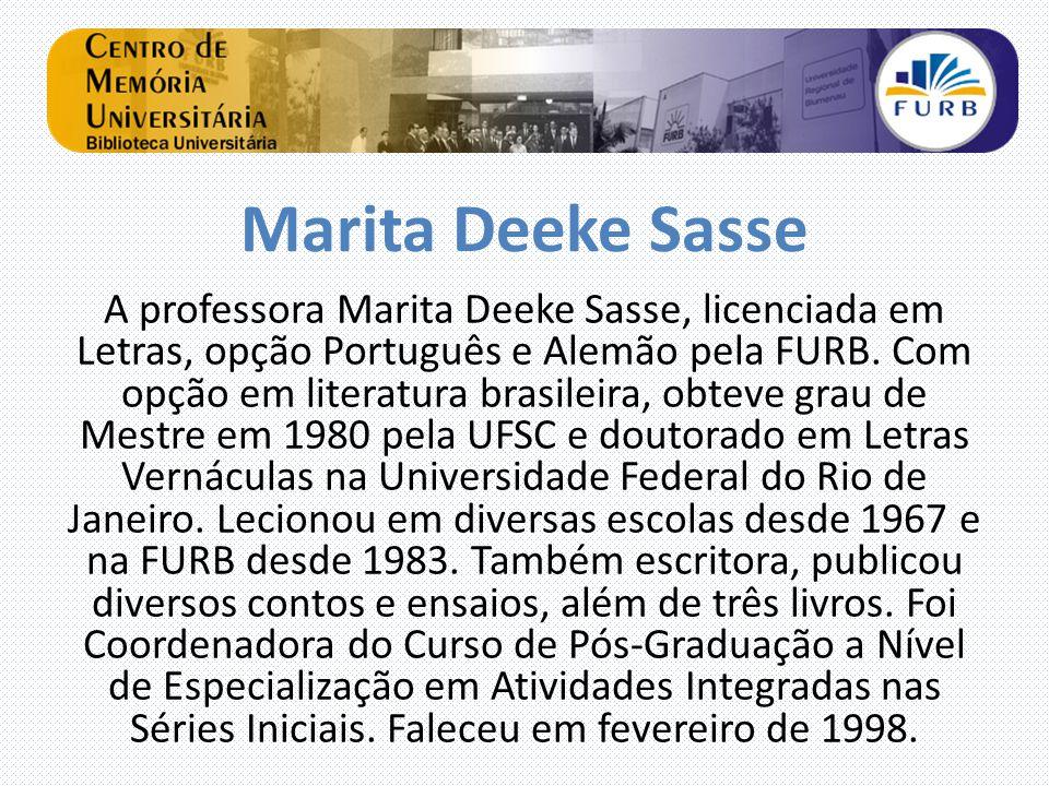 Marita Deeke Sasse