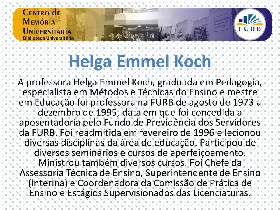 Helga Emmel Koch