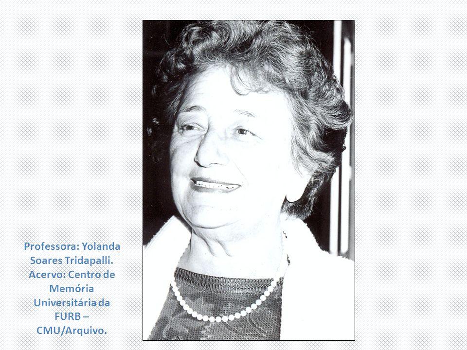 Professora: Yolanda Soares Tridapalli