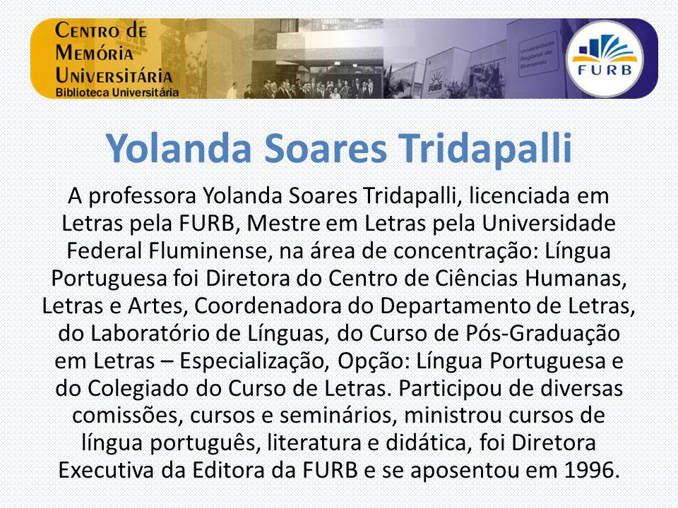 Yolanda Soares Tridapalli