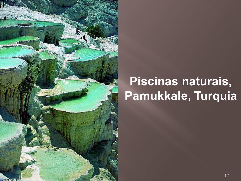 Piscinas naturais, Pamukkale, Turquia
