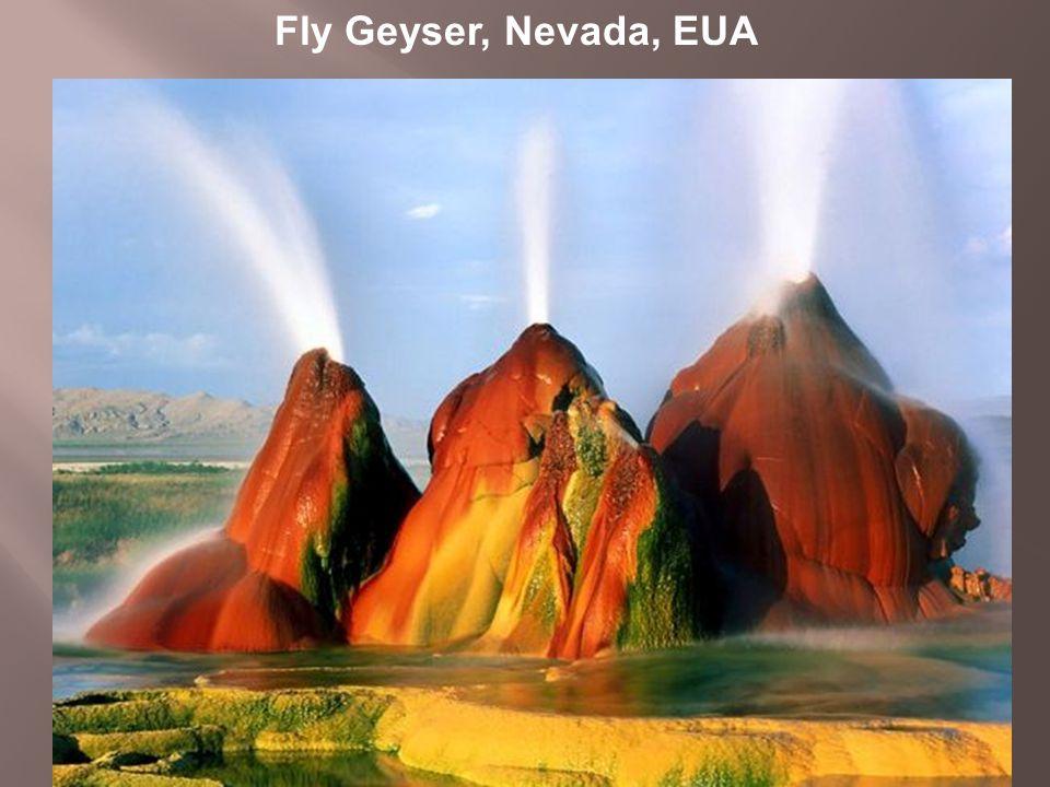 Fly Geyser, Nevada, EUA