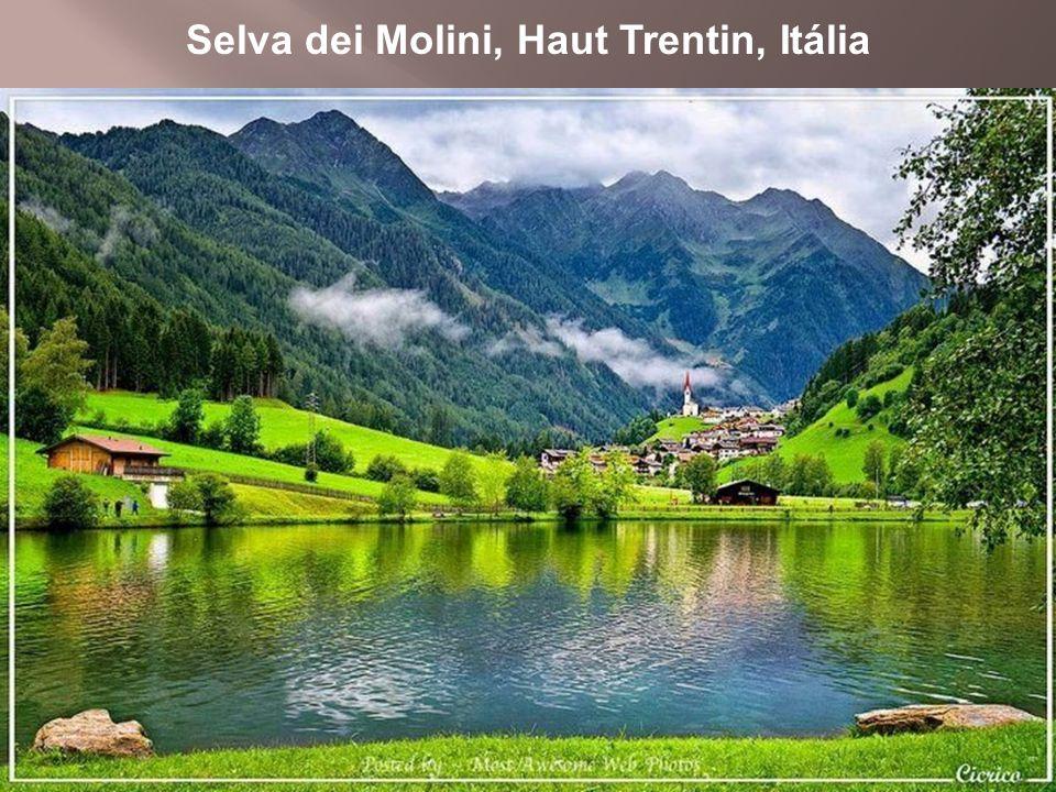 Selva dei Molini, Haut Trentin, Itália