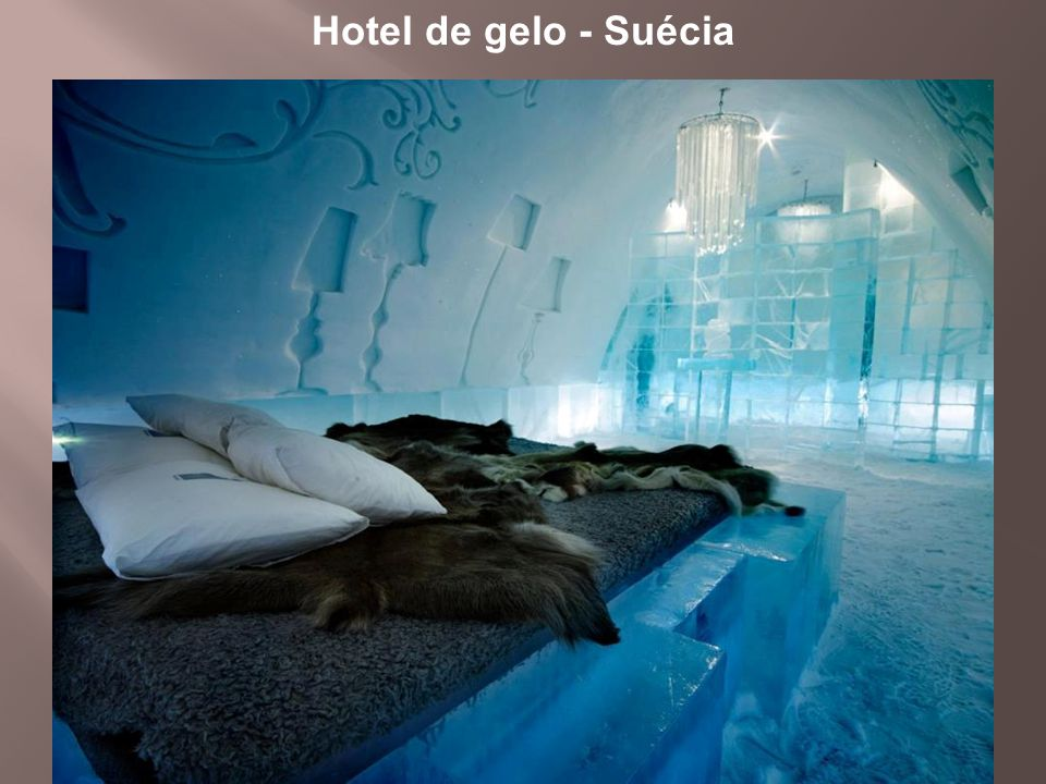 Hotel de gelo - Suécia
