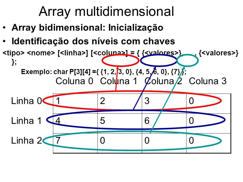 Array multidimensional