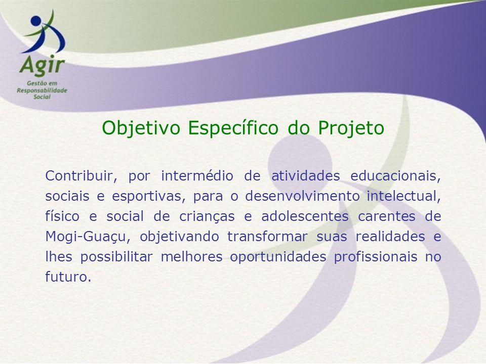 Objetivo Específico do Projeto