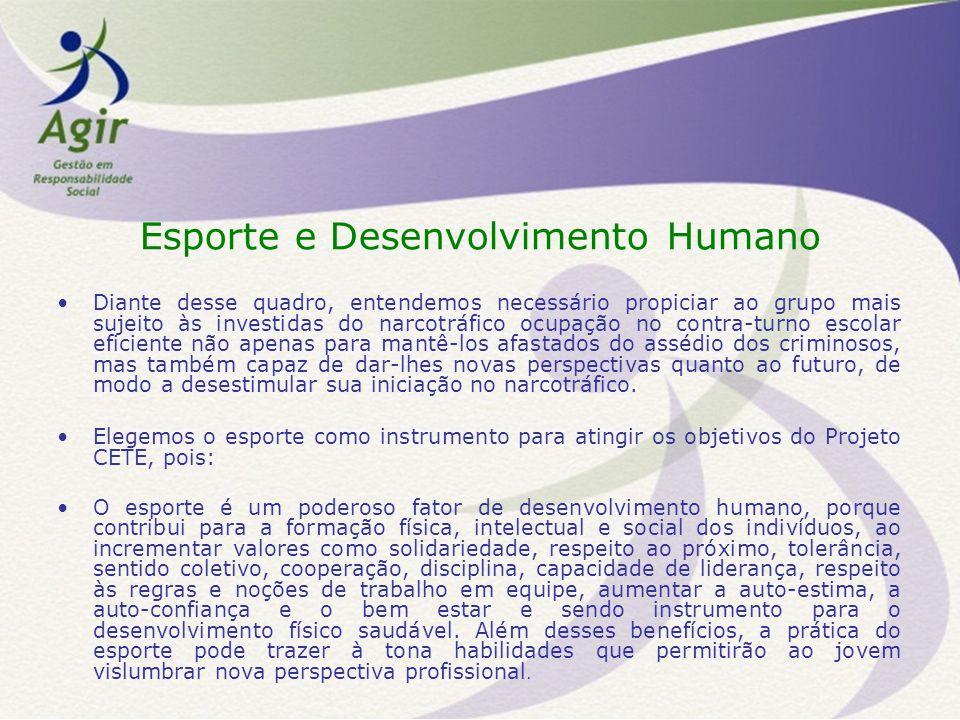 Esporte e Desenvolvimento Humano