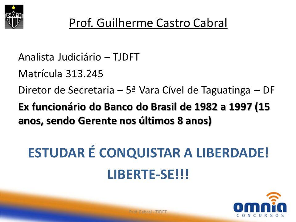 LIBERTE-SE!!! Prof. Guilherme Castro Cabral