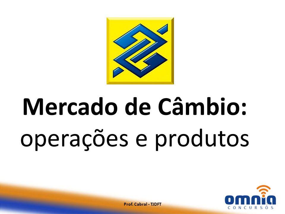 Mercado de Câmbio: operações e produtos