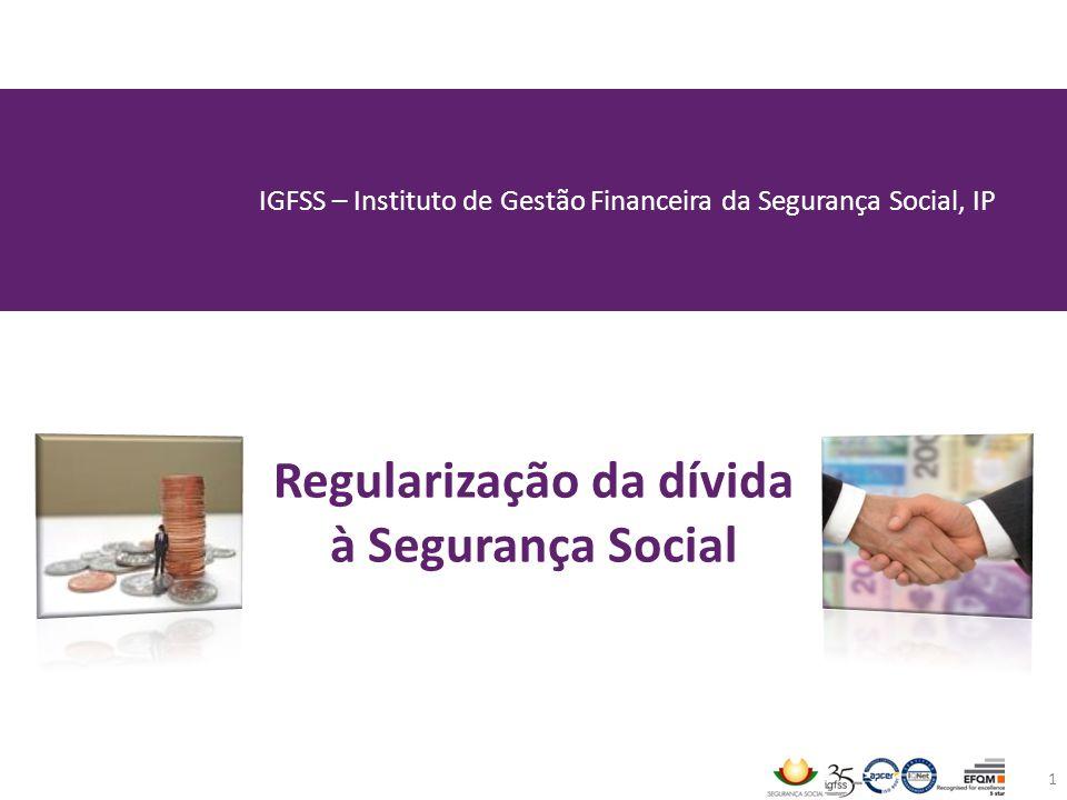 Regularização da dívida à Segurança Social