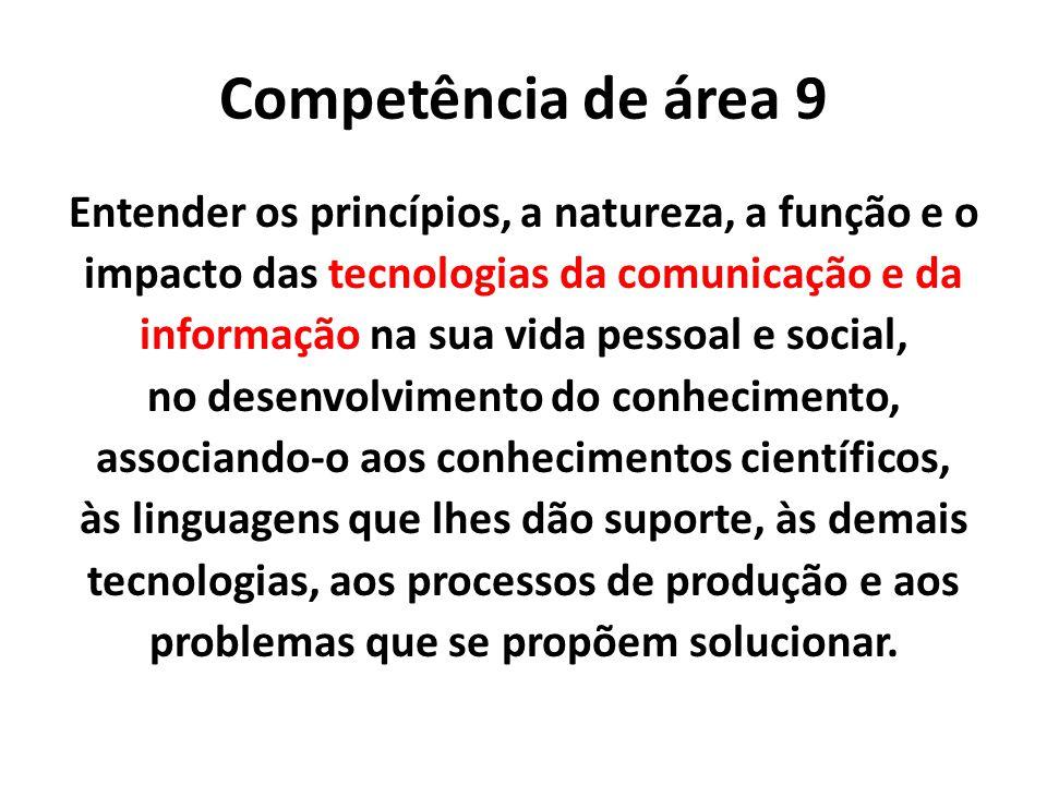 Competência de área 9