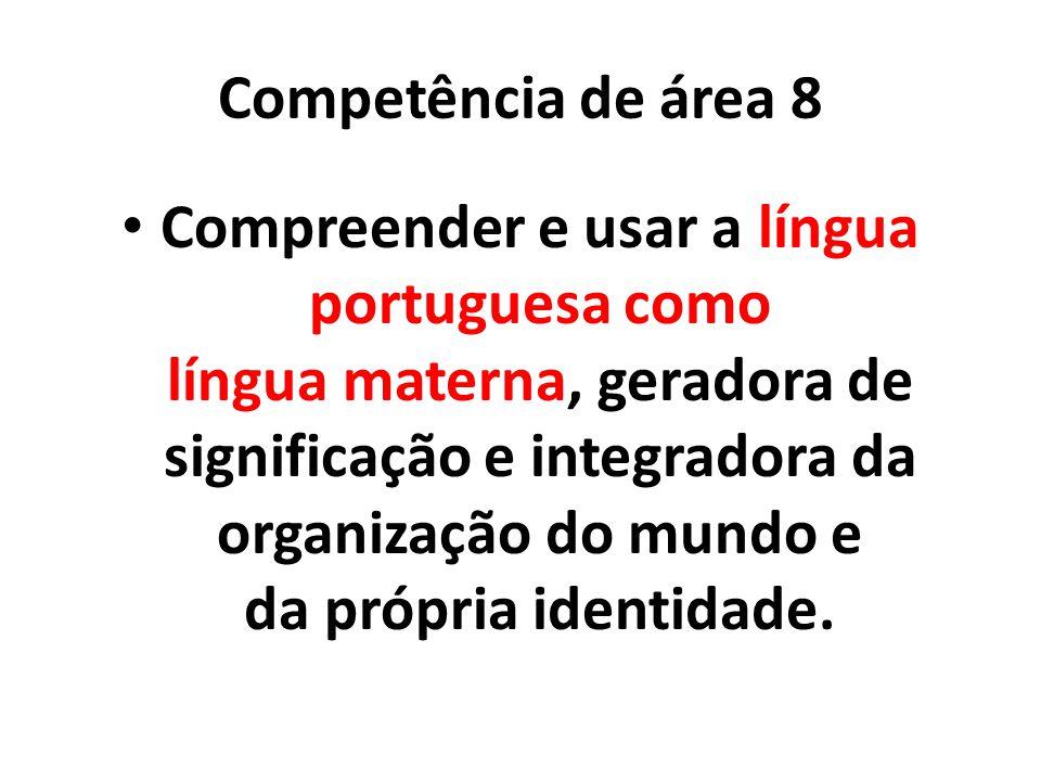 Competência de área 8