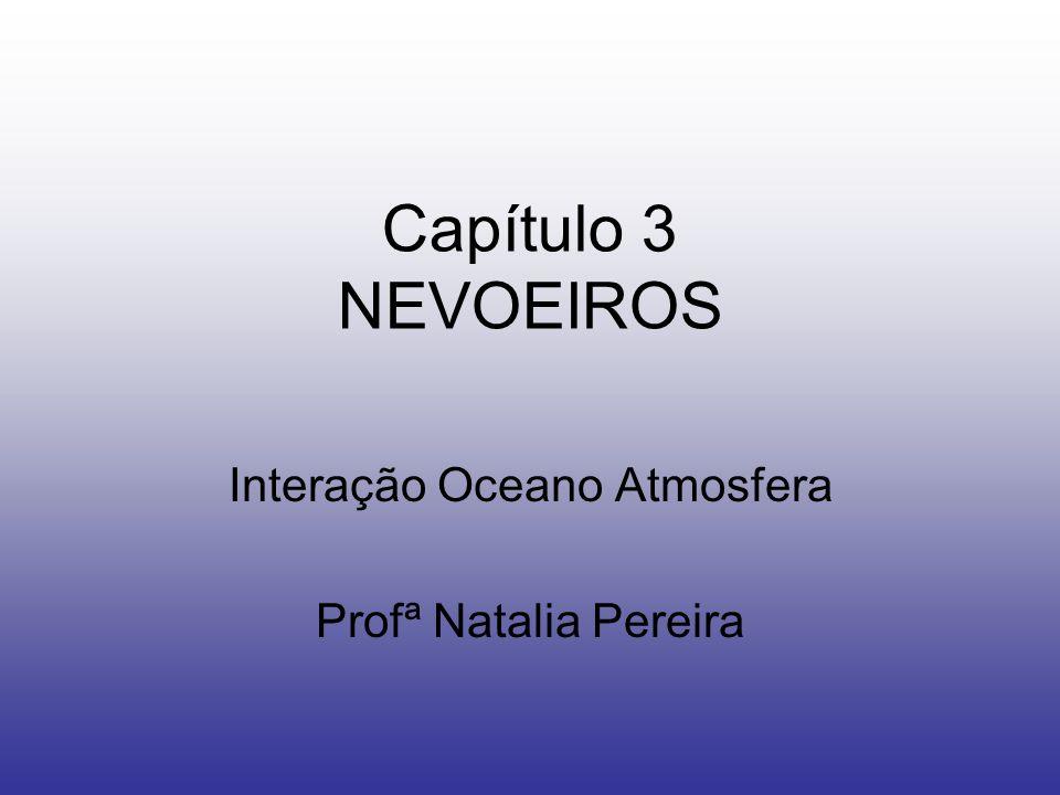 Interação Oceano Atmosfera Profª Natalia Pereira
