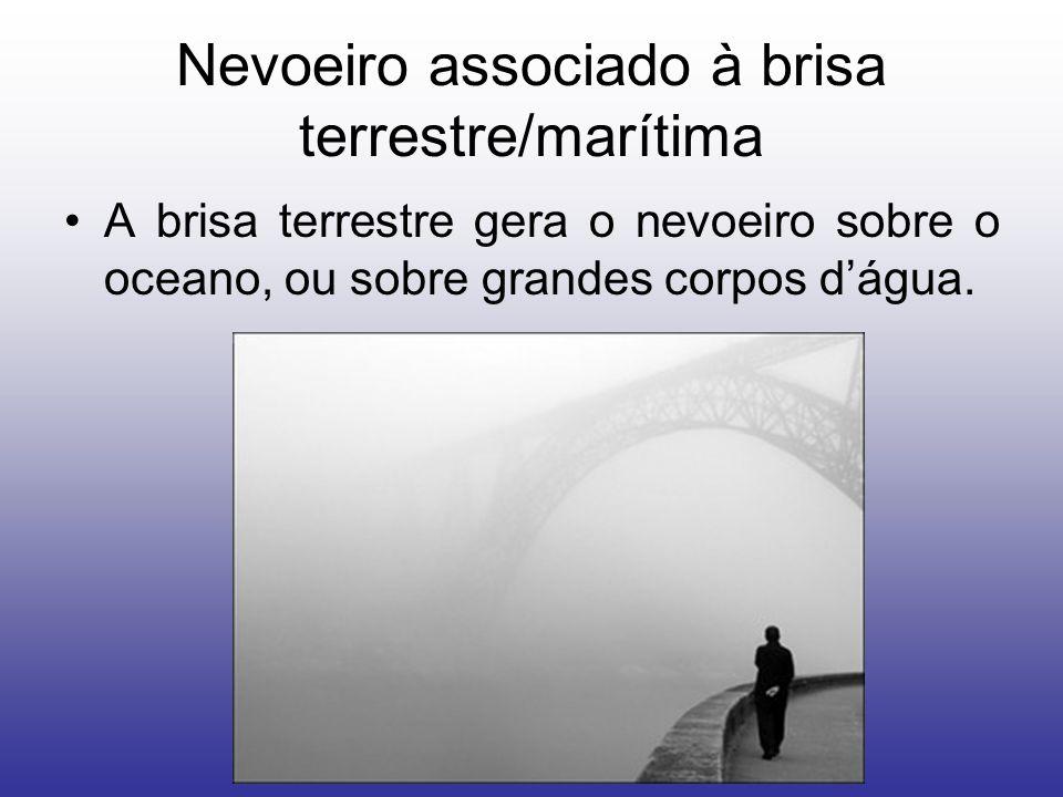 Nevoeiro associado à brisa terrestre/marítima