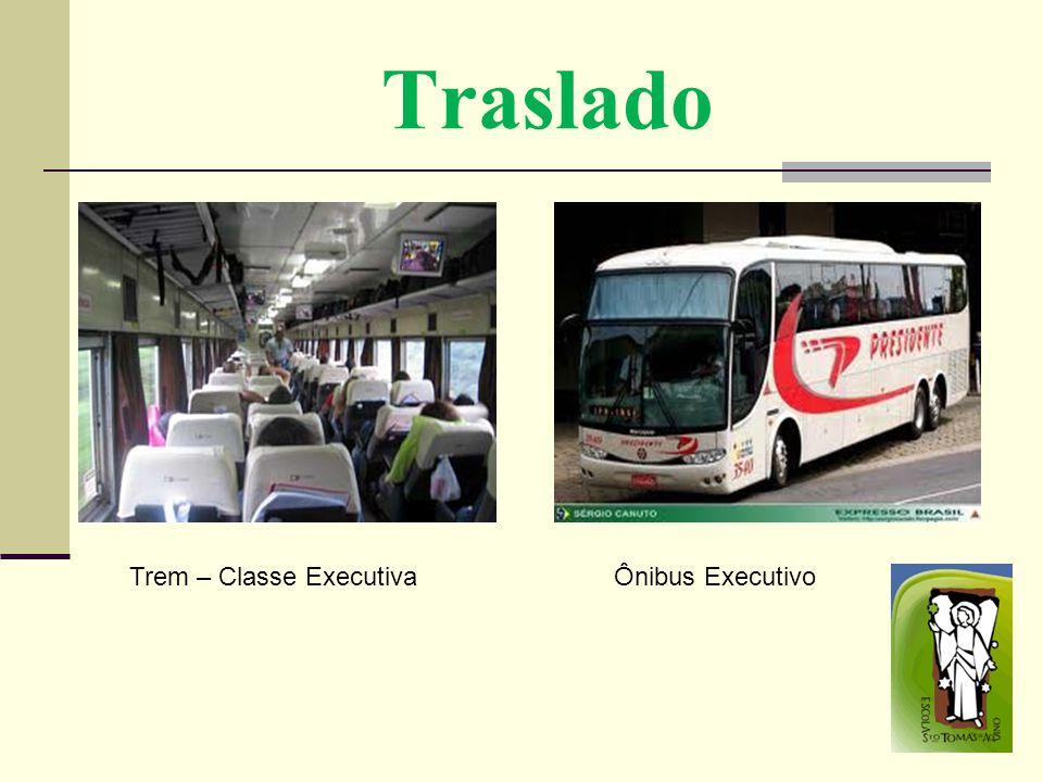 Traslado Trem – Classe Executiva Ônibus Executivo
