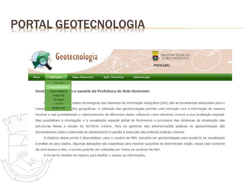 Portal geotecnologia